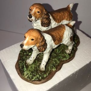 Other - Home Interiors Ceramic Spaniel Dogs